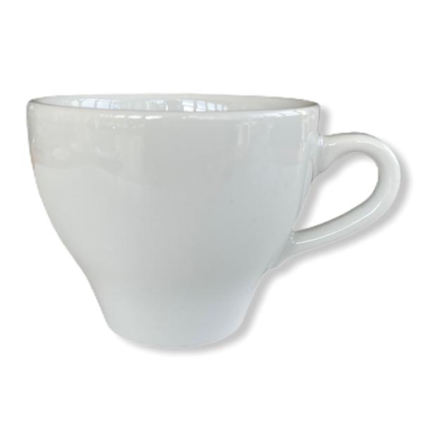 Porslin cappuccinokopp