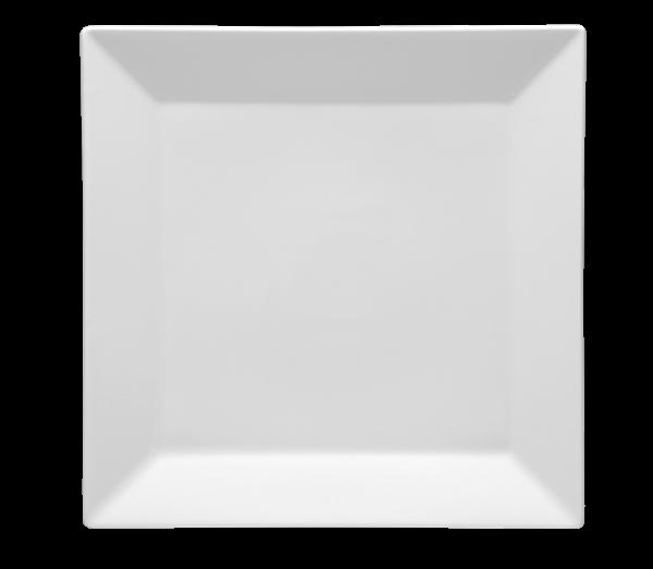 Porslin tallrik kvadratisk