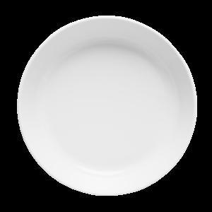 Tallrik djup rund vit 20cm